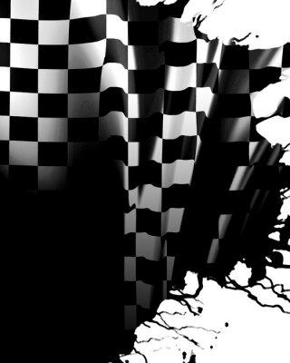 Фотообои Клетчатый флаг