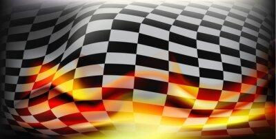 Фотообои клетчатый флаг гонки. Спортивные флаги. Фон клетчатый флаг для