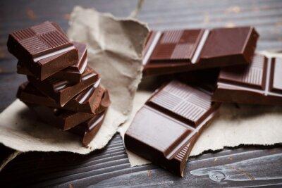 Фотообои Шоколад с деревенском бумаге