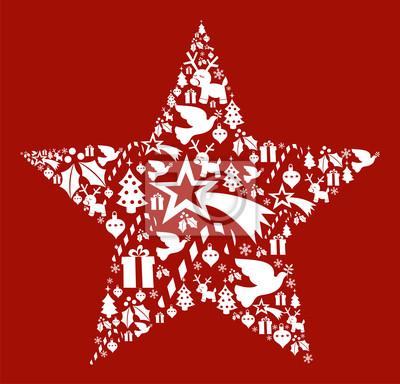 Открытка в форме звезды