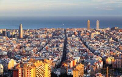 Фотообои Городской пейзаж Барселона, Испания
