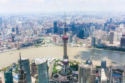 Фотообои городской Шанхае