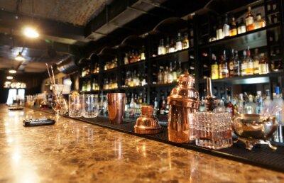 Фотообои Классический барная стойка