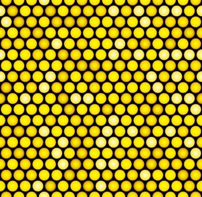 Фотообои Classic Gold Dotted Бесшовные шаблон с блестками. Вектор