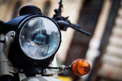 Фотообои Классический мотоцикл фары