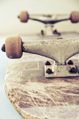 Фотообои закрыть изображение скейтборде