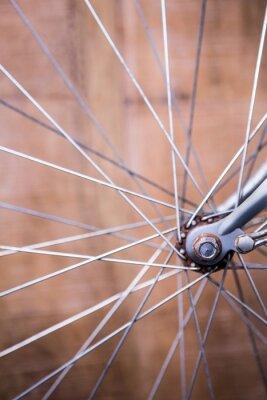 Фотообои Крупным планом вид спиц колеса велосипеда