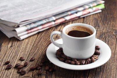 Фотообои Кофе и газеты