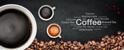 Фотообои coffee backgrond