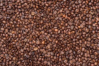 Фотообои Кофейный фон текстуры. Коричневые бобы