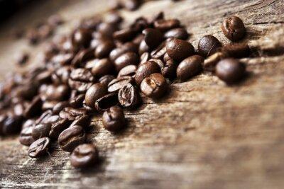 Фотообои Кофе по дереву