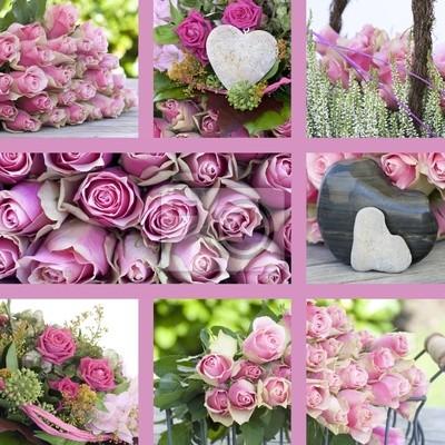 Букеты цветов коллажи