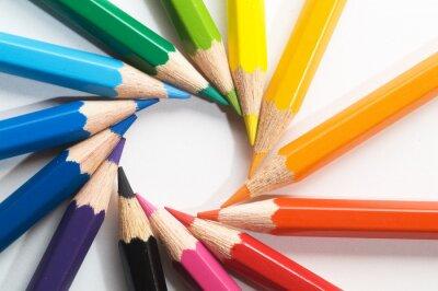 Фотообои цветной карандаш