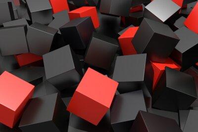 Фотообои colored cubes