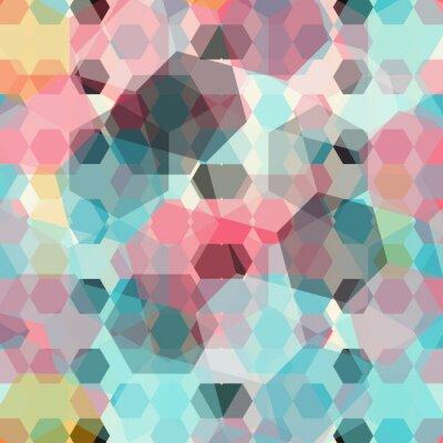 Фотообои цветные геометрические фона