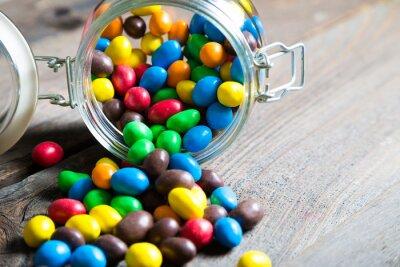 Фотообои Красочные конфеты