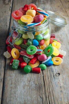 Фотообои Красочные конфеты резинка