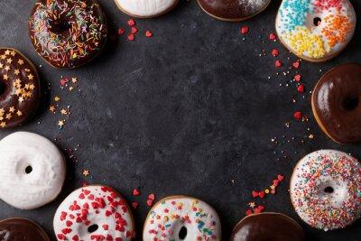 Фотообои Красочные пончики