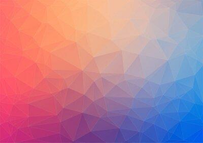 Фотообои Colorful geometric background with triangles