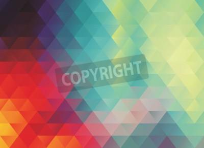 Фотообои Красочная многоугольная абстрактная текстура вектора или фон