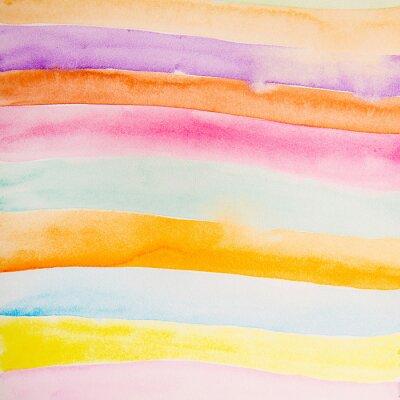 Фотообои красочные полосы цвет воды