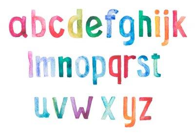 Фотообои Красочные акварель акварель шрифт рукописные рука ничья