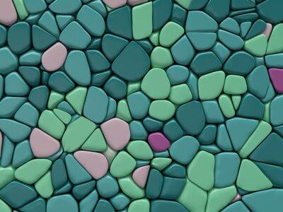Фотообои цветная текстура камня