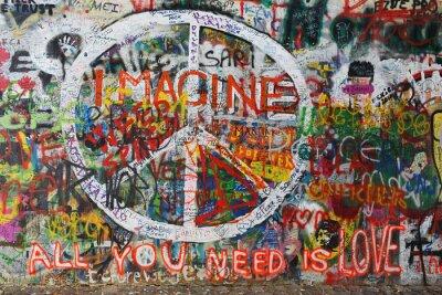Фотообои Colourfull мир граффити на стене