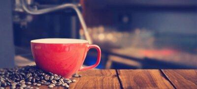 Фотообои Композитный изображение белого кружка кофе