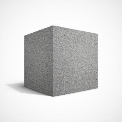 Фотообои Бетон куб