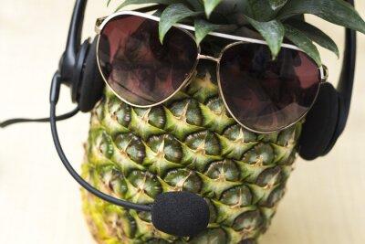 Фотообои Прохладный ананас