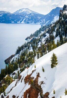 Фотообои Национальный парк Crater Lake