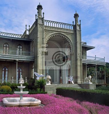 Фотообои Крым - Воронцовский дворец