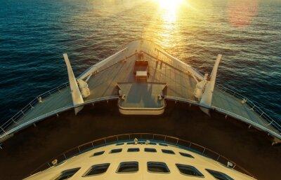 Фотообои Пересечение океана круизных судов