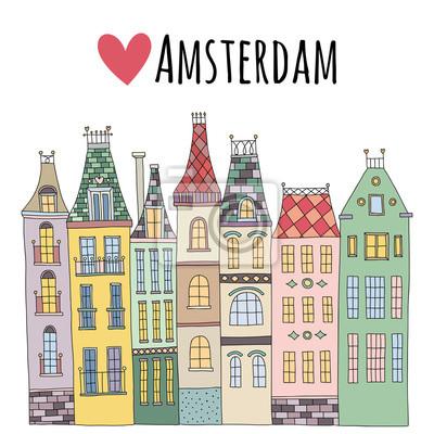 Рисовать амстердам