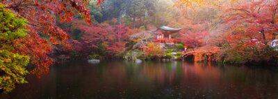 Фотообои Дайго-дзи осенью
