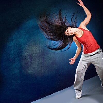 Фотообои танец девушка