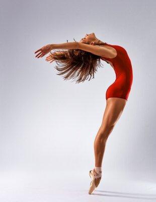 Фотообои танцор балерина