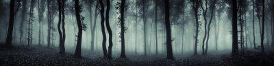 Фотообои Темный лес панорама фантазия пейзаж