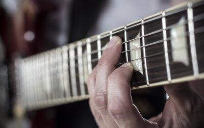 Фотообои Dedos Sobre DIAPASON де Guitarra