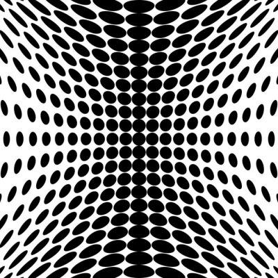 Фотообои Дизайн монохромный фон точки