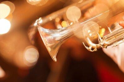 Фотообои Деталь труба крупным планом в золотых тонах