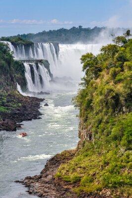 Фотообои Горло Дьявола, Водопады Игуасу, Аргентина