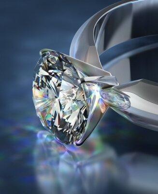 Фотообои Бриллиантовое кольцо