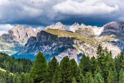 Фотообои Доломиты Италия - Валь-Гардена - Пассо Селла
