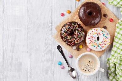 Фотообои Пончики и кофе