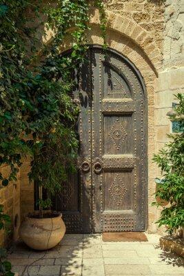 Фотообои дверь