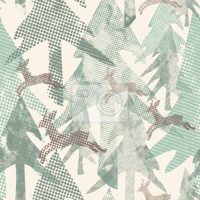 Фотообои Пятнистый лес
