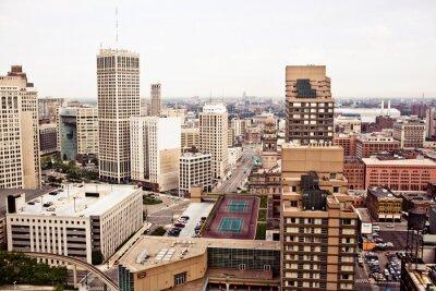 Фотообои Центр города Детройт