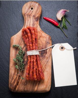 Фотообои Сушеная колбаса